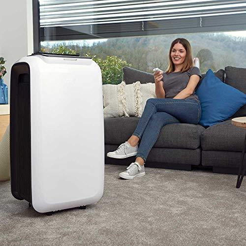 BLACK+DECKER BXAC9000E Condizionatore Portatile, Plastica, Bianco