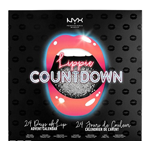 NYX Makeup Lippie Countdown advent calendar set