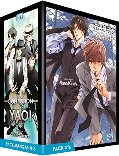 Collection Yaoi Pack N° 6 : 5 mangas : The Bad Boys Notebook of Forgotten Things ; School Police Love Mission ; Swinging Lovers ; After all, he melts with love to me ; Melancholic Love par From Boy's love