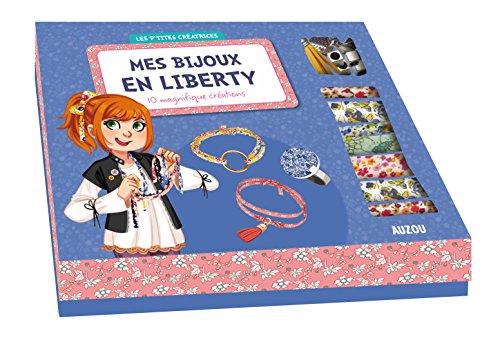 Les p'tites Créatrices - Coffret mes bijoux en liberty 2 (avec Kate l'anglaise) par Mathilde Paris