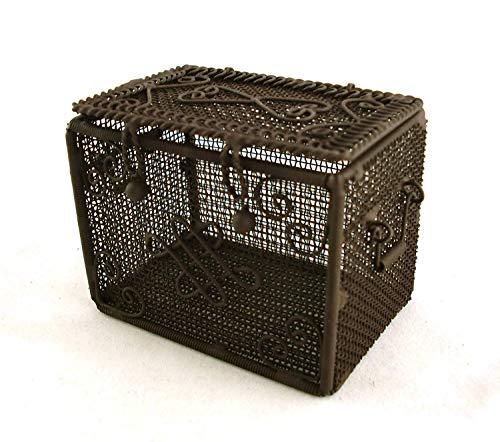 Vanity Fair Puppenhaus Miniatur Korb Koffer 6