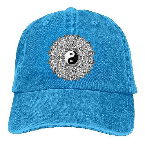 Aoliaoyudonggha Flower Denim Baseball Caps Hat Adjustable Cotton Sport  Strap cap for Men Women 0dc06744d7ba