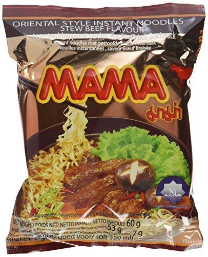 Mama Instantnudeln, Rind, 30er Pack (30 x 60 g)