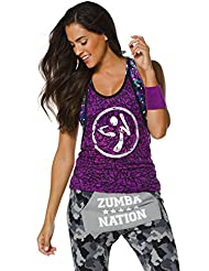 Zumba Fitness Funked Up Burnout Débardeur Femme Zumba