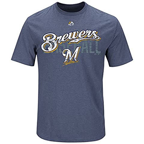MLB Baseball T-Shirt MILWAUKEE BREWERS All-in-the-Game in S (SMALL)