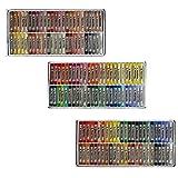 amp-artshop© 150 Soft Pastellkreiden Set ABC 50 Warmtöne 50 Kalttöne