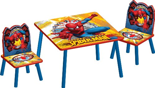 Marvel Spiderman Table and Chair Set