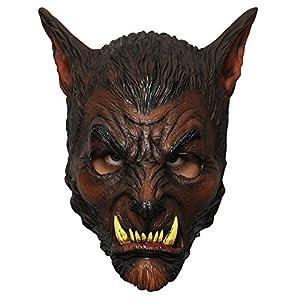 Générique-mahal628-Máscara Lobo látex Adulto-Talla única