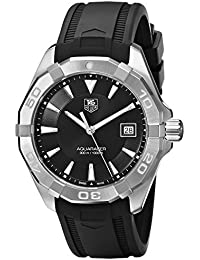 TAG Heuer Herren-Armbanduhr Analog Quarz Kautschuk WAY1110.FT8021