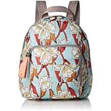 Oilily - Ruffles Ornament Backpack Svz, Bolsos mochila Mujer, Turquesa (Light Turquoise)