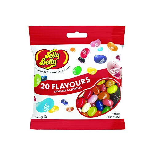 Jelly Belly 20 Flavours -Chuches, 1 unidad de 100 gr