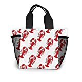 PhqonGoodThing Lunch Bag Totebag Heat-Resistant Premium Lunch Container Portable Gourmet Tote Pouch...