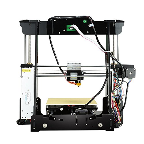 Aufgerüstete Version- ALUNAR 3D Desktop Drucker Self Assembly Reprap Prusa I3 Kit mit Filament - 2