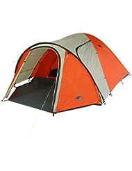 10t Outdoor Equipment 10T Jumbuck 4 Tienda de cúpula, Naranja, Estándar