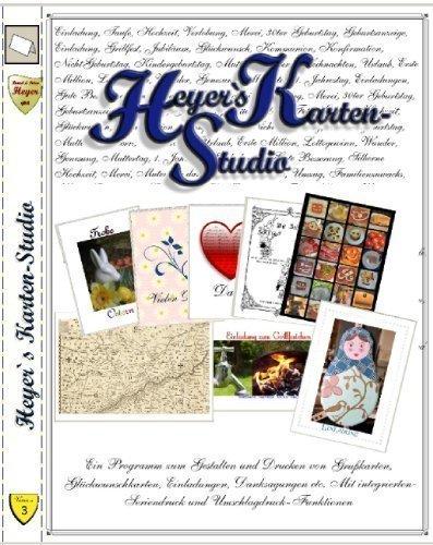Preisvergleich Produktbild Heyers Karten-Studio