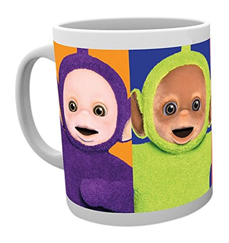 GB eye Teletubbies, Faces Mug, Multi-Colour