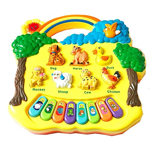 Pinnappo Lights and Musical Animal Farm Piano Keyboard for Kids ( Piano for Kids )