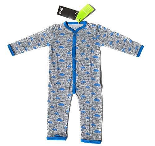 Ventilkappenkönig Baby Bio Baumwolle Body Pyjama Strampler Kleinkind Neugeborene 1er 2er 3er Sets für 0-24 Monate (1er Body Autos, 74-80) (Bio-höschen)