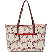 Pink Lining Notting Hill Tote–Zebra Crossing