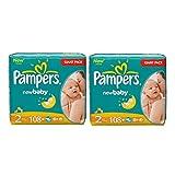 Pampers Windeln Baby Dry Mini 2 Gr. 3-6 Kg bis zu 648 Stk. (Mini 2 x 108 = 216 Stk)