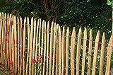 Gartenwelt Riegelsberger 10 Stück, Stakete französische Kastanie gespalten, 100 cm