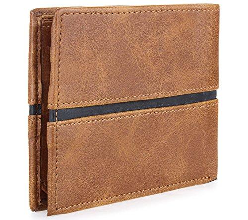 Laurels Men's Wallet Brown-EGO-02