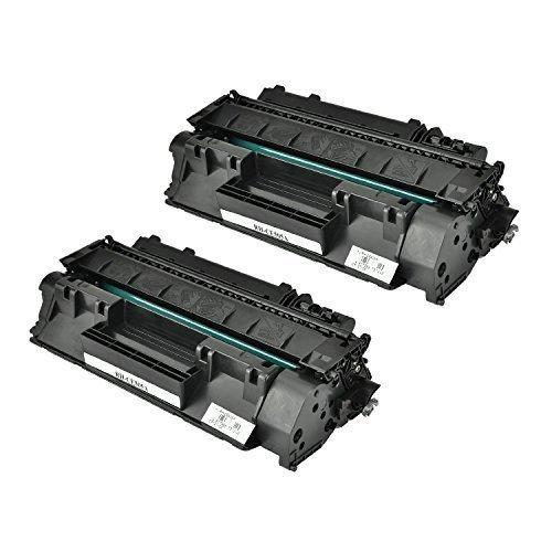 Cool Toner compatible CE505A per HP LaserJet P2030 P2035 P2035N P2050 P2055D P2055DN P2055X(2300 pagine, Nero, Confezione da 2 pezzi)
