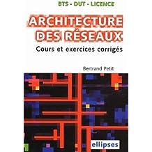 Architecture des réseaux BTS-IUT-Licence : Cours et sujets corrigés