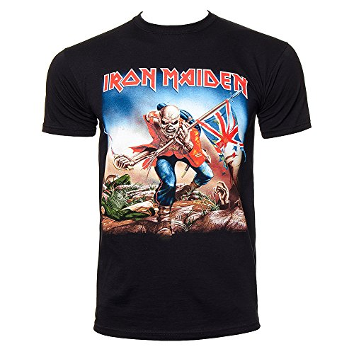 T Shirt Iron Maiden Trooper (Nero) - Small