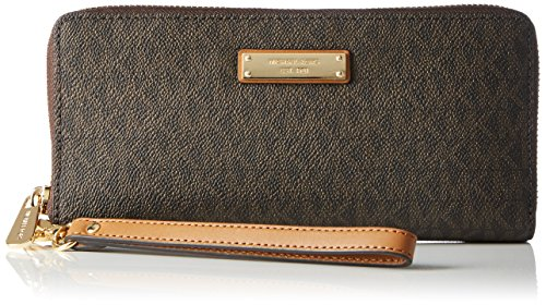 Michael Kors Damen Jet Set Item Tornistertasche, Braun (Brown), 2.5 x 10.2 x 21 cm