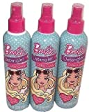 Barbie Cotton Candy Scented Hair Detangler 8oz (Pack of 3)
