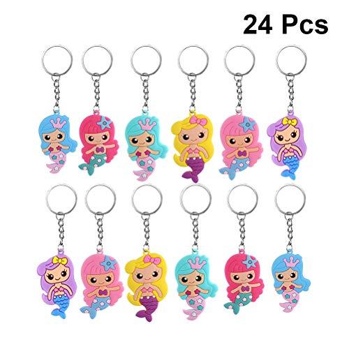 erjungfrauen-Schlüsselanhänger, für Mädchen und Kawaii, Schlüsselanhänger, Rucksack, für Handtaschen, Mädchen, kleine Geschenke, Cartoon-Schlüsselanhänger, Autoschlüsselhalter ()