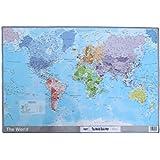 Tiger Mapa del Mundo Alfombrilla de escritorio