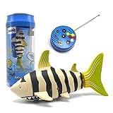 eMart Mini Fernbedienung Fisch Elektrisches Spielzeug RC Hai Shark Schwimmendes Wasserspielzeug Kinder Weihnachtsgeschenke - Gelb
