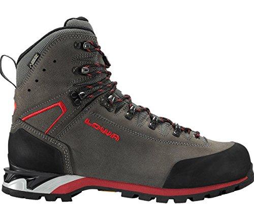 Lowa Predazzo GTX chaussures trekking - Anthrazit/Rot