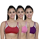 Best Exercise Bras - The Bra Man Women's Cotton Seamless Sports Bra Review