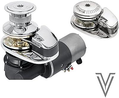 MOLINETE X2 12V/1000W CON CAMPANA-CADENA 8MM