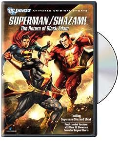 Superman/Shazam: Return of the Black Adam [Import USA Zone 1]