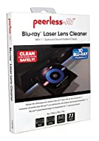 Peerless CL-BDL300 Blu-ray Laser Lens Cleaner with 7.1 Surround Sound System Check for Blu-ray Players, Blu-ray Recorders and PlayStation 3