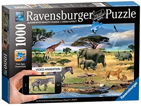 Ravensburger Augmented Reality Animals Of Africa Jigsaw Puzzle (1000 Piece)