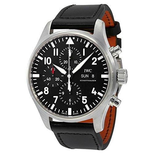 iwc-homme-43mm-bracelet-cuir-noir-boitier-acier-inoxydable-saphire-automatique-analogique-montre-iw3