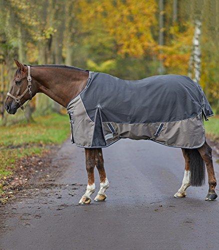 WALDHAUSEN Outdoordecke Comfort Line, Fleece, anthrazit, Rückenlänge 155 cm