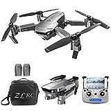 Goolsky- SG907 Drone avec Caméra 4K 5G WiFi GPS Interface de Positionnement de Flux Optique MV Suivez-Moi Geste Photos Vidéo RC Quadricoptère avec Sac Portable