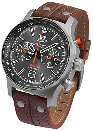 Montre Vostok Europe Expedition homme 6S21-595H298