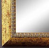 Online Galerie Bingold Spiegel Wandspiegel Badspiegel Flurspiegel Garderobenspiegel - Über 200 Größen - Turin Gold 4,0 - Außenmaß des Spiegels 30 x 30 - Wunschmaße auf Anfrage - Antik, Barock