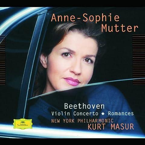 Beethoven: Violinkonzert / Romanzen 1 &