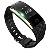 Smart Bracelet, FENGXUN Fitness tracker, Activity Tracker Pedometer Wristband with Heart Rate Monitor Waterproof for Android and IOS Smart Phones