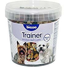 Biozoo Trainer, Snack Educativo de Pollo, Buey y Cordero para Perros - 600 gr