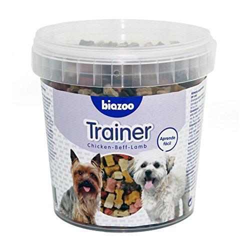 Biozoo Trainer, Snack Educativo de Pollo, Buey y Cordero para Perros -...
