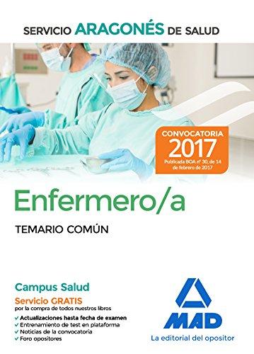 Enfermero/a del Servicio Aragonés de Salud. Temario común